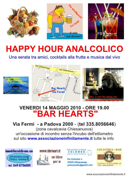 Happy hour analcolico